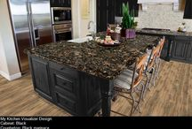 Give Your Kitchen a Facelift ! / Browse through our pre-designed kitchens or create your very own by using the options in our STL Kitchen Visualizer!  Get started by visiting our link at: http://www.stonetileliquidators.com/kitchen-visualizer-tool