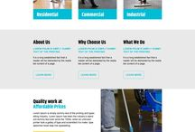 Cleaning Service Landing Page Design
