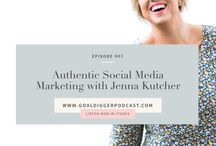 The Goal Digger Podcast with Jenna Kutcher / Welcome to The Goal Digger Podcast: the live-workshop style business podcast for creative girl bosses, so you can train from the experts on how to dig in, do the work and tackle your biggest goals along the way.