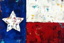 Texas inspired art for future art class projects