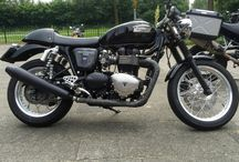 Our 2007 Triumph Thruxton / Pics of our Thruxton and it's mods
