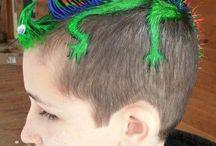 Crazy Hair For Boys