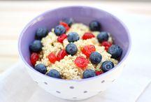 food (porridge)