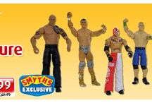 WWE / WWE 6 Figure Gift Pack! / by Smyths Toys Superstores