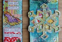 Art - Mixed Media / by Carrie Stephens - FishScraps