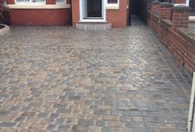 Marshalls Drivesys / Driveway and path Projects installed using Marshalls Drivesys originally named Cobble tech now called original cobble and split stone.