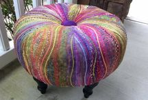 Tuffets, Footstools, Pouffes and Ottomans