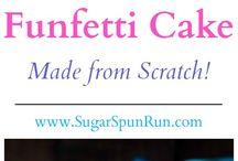 Recipe for vanilla confetti cake xx