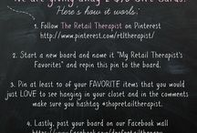 My Retail Therapist's Favorites / by Rebecca H.