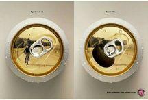 briljante reclames / reclamefoto's van oa twitter account @brlliant_ads