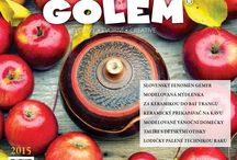 GOLEM 04/2015 / www.tvorivyamos.cz