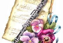 muzica - flori