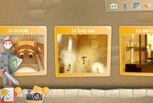 VOYAGES - Visites Guideez / Guideez, c'est une collection d'applications dédiées aux enfants, à télécharger sur smartphone ou tablette, pour découvrir plein de lieux touristiques et culturels en famille ou en groupe