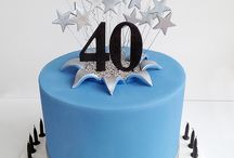 Cakes - 40th birthday