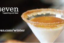Oseven Winter - Cocktails