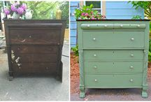 Painted Furniture Before and After