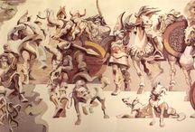 Horia Ghelu / Mural painting