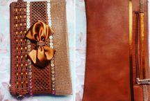 Bolsas decoradas / O toque final é o diferencial do seu look!
