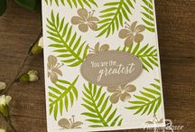 Stampin Up - Tropical Chic