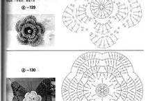 chrochet flower