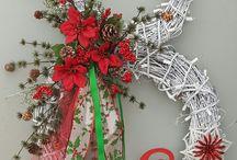 Christmas second snowman wreath