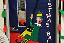 Christmas Door contest