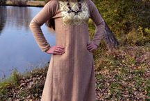 My work - clothing / early medieval clothing