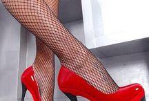nylons stiletto feet