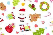 Santa Express Fabrics