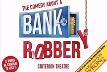 """The Comedy About A Bank Robbery / Written by Henry Lewis, Jonathan Sayer and Henry Shields of Mischief Theatre and starring the Mischief Theatre Company who brought you the Olivier Award-winning Best New Comedy """"The Play That Goes Wrong"""" and """"Peter Pan Goes Wrong"""".  Click here for more info: http://bit.ly/1Z3hqsv"""