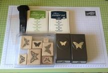 Fancy butterfly card