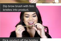 Makeup hacks