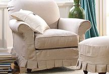 Pretty Slipcovers / by A Pop of Pretty Blog