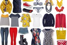 Seaside trip capsule wardrobe