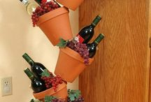 clay pot holders joined together