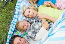 creative photography / thinking outside the box for family portraits