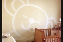 Teddy bear nursery / Teddy bear themed nursery in neutrals.