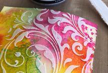 Embossing Texture paste