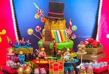 Festa fábrica de chocolate
