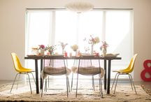 Dining spaces / by Natalie Dawn