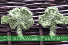 St. Patricks Day Crochet Patterns / Crochet patterns with St. Patricks Day in mind.  DIY with luck!