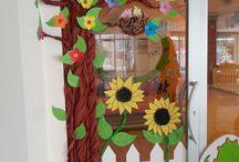 decoración escuela