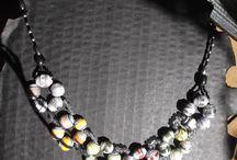 eigener Papierperlen Schmuck Paperbeads Jewelery