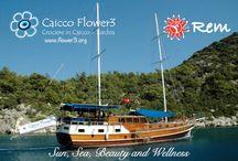 Caicco Flower3 - Kekova / Crociere in caicco lungo la costa Licia - Turchia