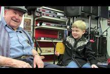 Bluegrass Legendary Musician: Tut Taylor / My husband's famous uncle: Tut Taylor Flat Pickin' Dobro Man / by Dottie Grimes