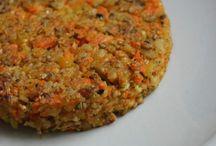 Galettes pois chiche carottes