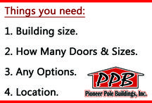 Request a Quote! / Start planning for Spring time.  Request a Quote TODAY! http://pioneerpolebuildings.com/request  #Quote #Pricing #BuyABuilding #PioneerPoleBuildings #Planning