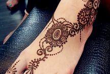 ヘナ_foot