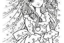 anime manga coloring