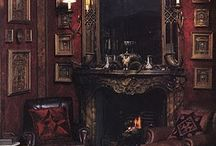 Atrum Opus / Classic Victorian, romantic, gothic decor, homes and furniture.  / by Jay Tye